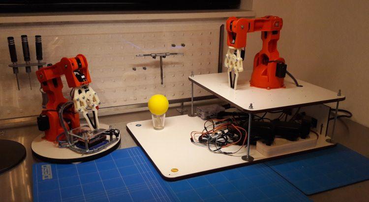 Arduino Braccio Robot Arm, Raspberry Pi Controlled with